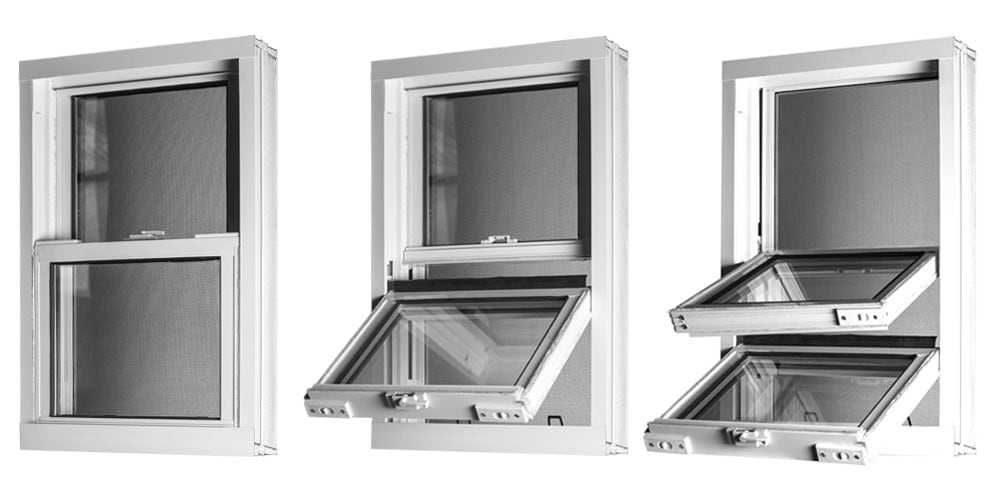Double Hung Window Security Bar : Double hung tilt windows northview and doors