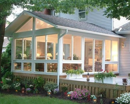 Choosing the perfect sunroom for your house north view for Sunroom roofs
