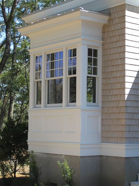 Bay window types choosing the right one for your home for Window design outside