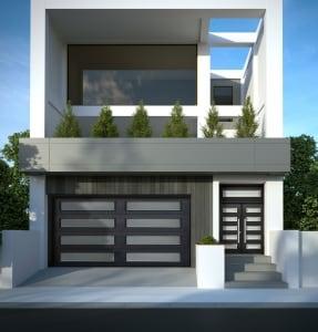 Contemporary garage doors increasing comfort curb appeal for 10 x 7 garage door canada