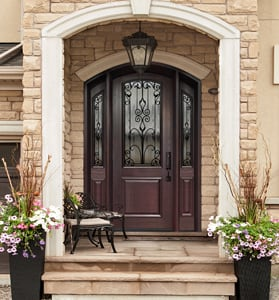 ... savvy homeowners who opt to add an extra flavour of richness to their entryways Thermoluxe offers a wide selection of versatile custom door shapes. & Custom Fiberglass Shaped Doors - North View Canada