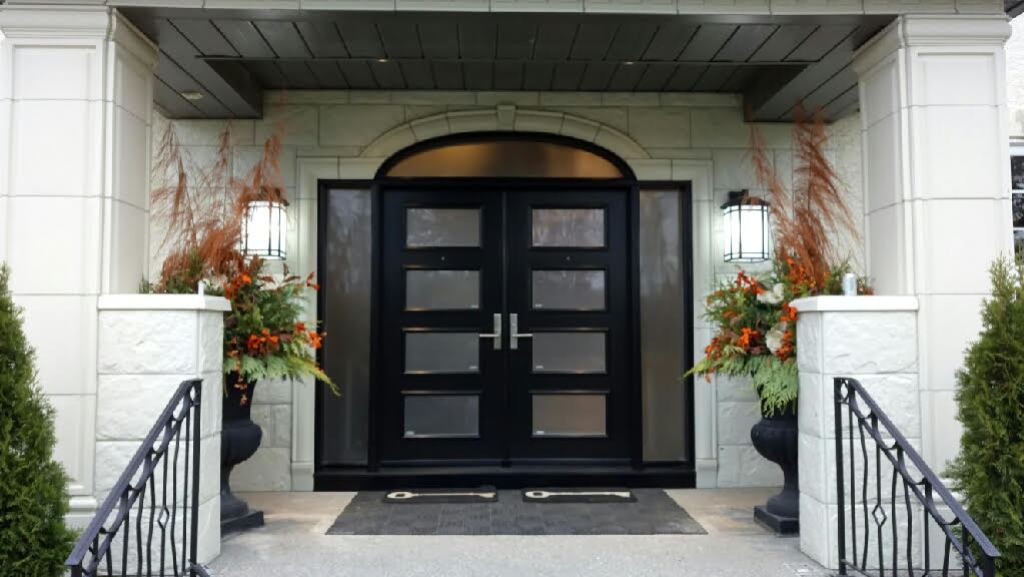 Installed By Northview Contemporary Front Doors In Calgary Ab