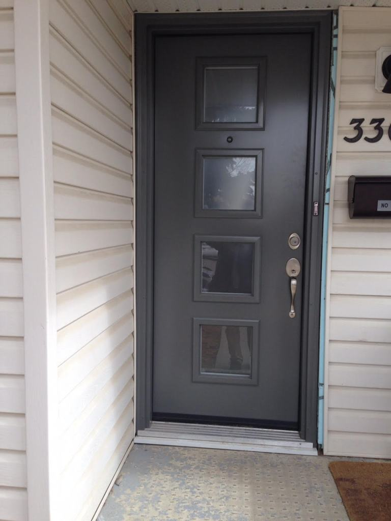 Installed By Northview Contemporary Front Doors In