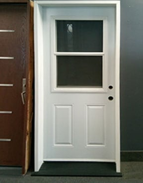 Steel 6 panel door with Vent
