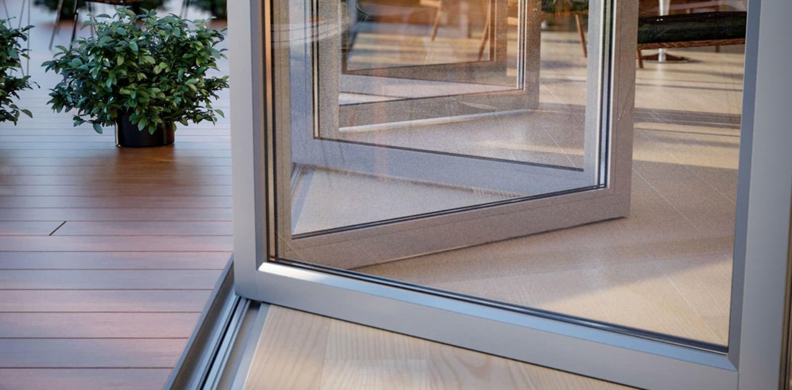 Aluminum Bi Fold Exterior Doors North View Canada